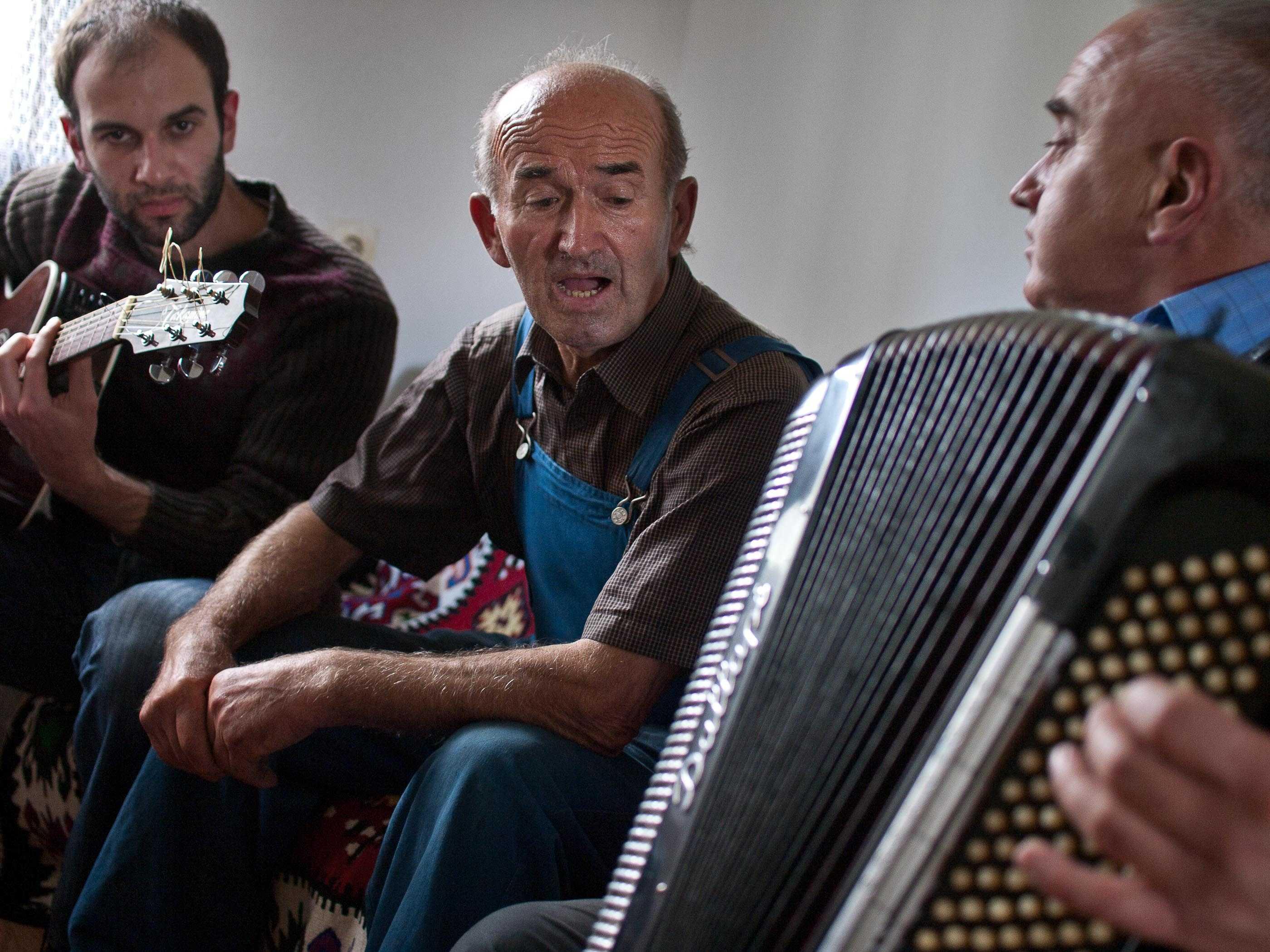 Three generations of Serbian musicians