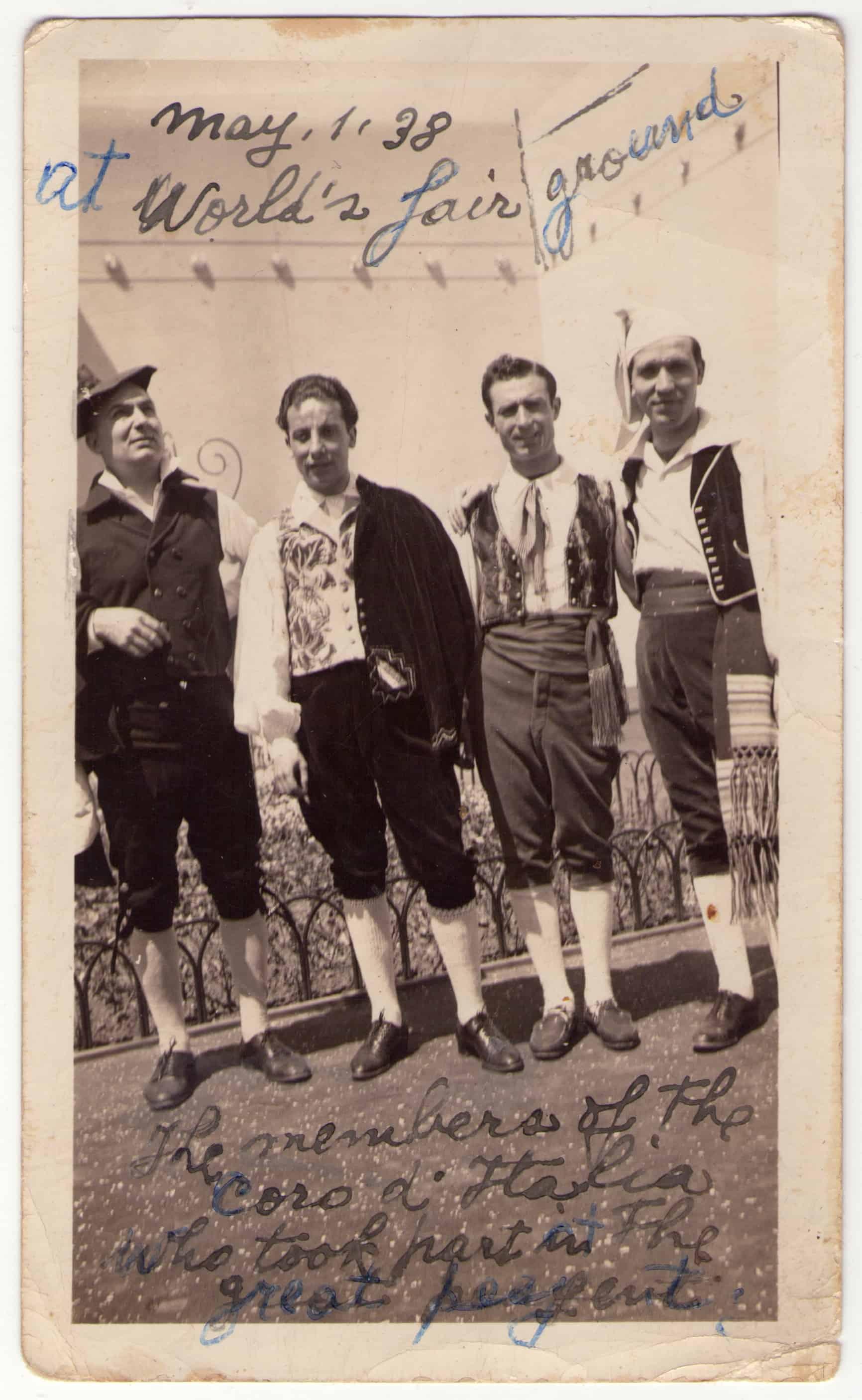 NY, Members of the Coro d'Italia